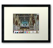 King Center Charter School Framed Print