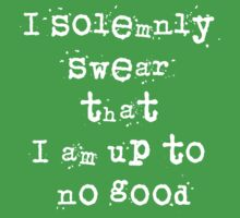 I solemnly swear that I am up to no good - Harry Potter Baby Tee