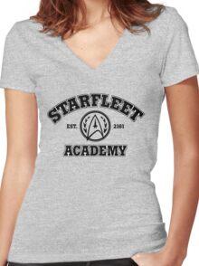 Starfleet Academy Women's Fitted V-Neck T-Shirt