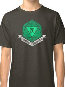 Natural 20's (GREEN) Classic T-Shirt