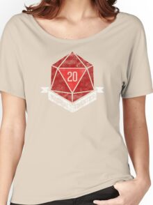 Natural 20's (RED) Women's Relaxed Fit T-Shirt