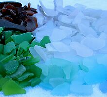 Sea Glass Haul by Dee2west