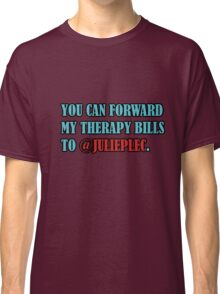 TVD Therapy Bills Classic T-Shirt