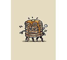 Pancake Bot Photographic Print