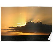 Noisy Sunset Poster