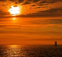 Calm Gulf by jasmith162