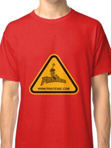 Pirates warning Classic T-Shirt