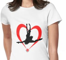 For Ballerina or Ballet Lovers Womens Fitted T-Shirt