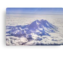 Above Mount Rainier in HDR Canvas Print