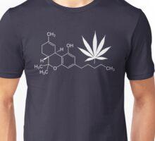 Marijuana/cannabis THC molecule shirt Unisex T-Shirt