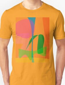 Corn Field Sundown Unisex T-Shirt