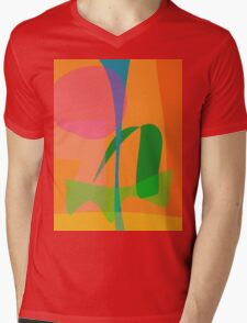 Corn Field Sundown Mens V-Neck T-Shirt