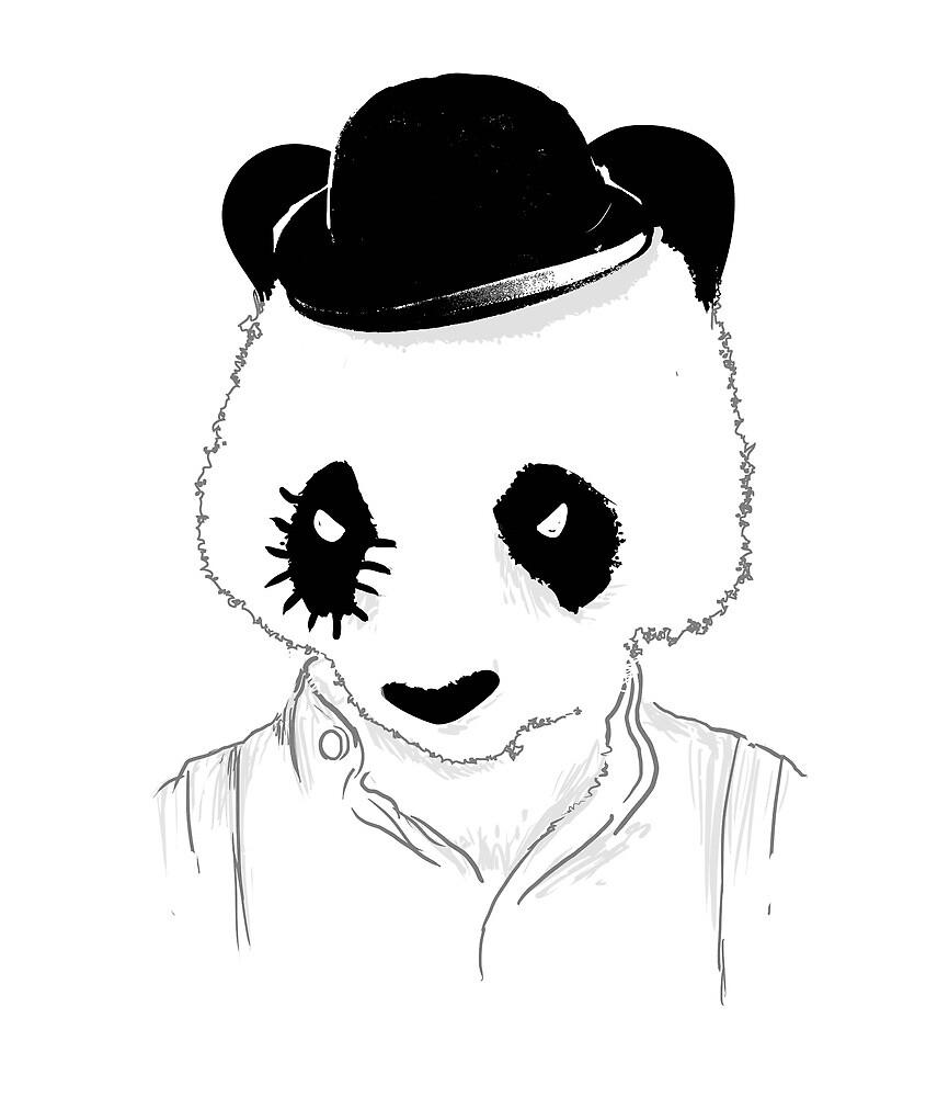 Clockwork panda by Budi Satria Kwan