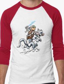 Calvin & Hobbes Men's Baseball ¾ T-Shirt