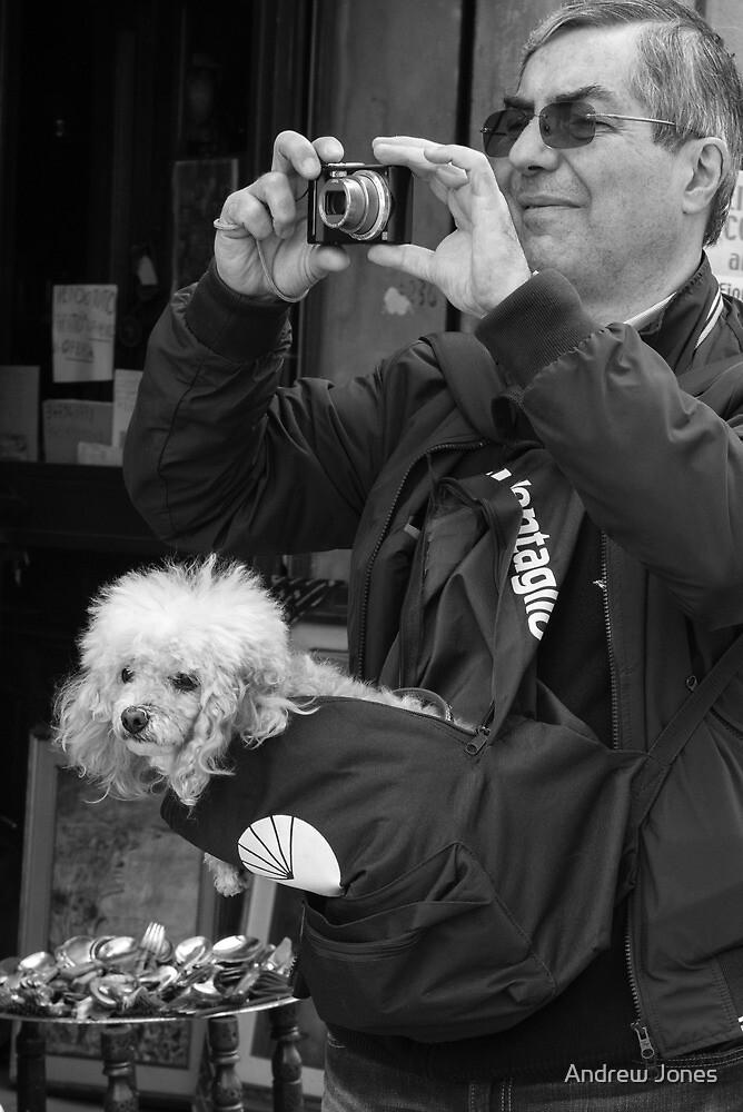 Doggy bag, Castiglione del Lago, Umbria, Italy by Andrew Jones