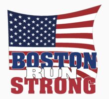 Boston Run Strong by Mark Maloney