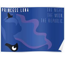 Princess Luna Republic Poster