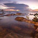 Nightcliff Sunset Enlightened by Andrew Brooks