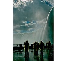 Heavens Fall Photographic Print