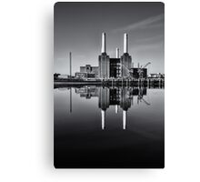 Battersea Power Station (England) Mono Canvas Print