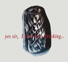 "Mtn dew soda can. ""yes sir, I have been drinking"" by linwatchorn"