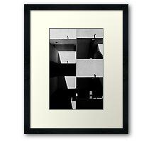 Lisses Shadows Framed Print
