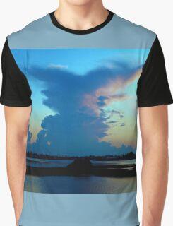 Blue dominance Graphic T-Shirt