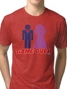 Game Over Marriage Tri-blend T-Shirt