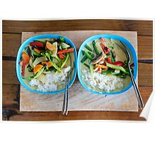 Green Curry. Poster