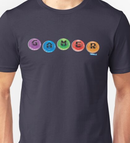 Gamer Buttons Unisex T-Shirt