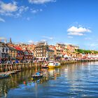 Whitby Harbour by Stephen Walton