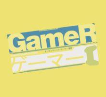 Gamer Kanji Kids Tee
