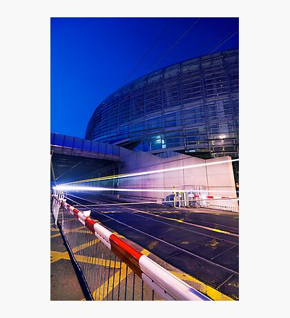 Fast lights Photographic Print