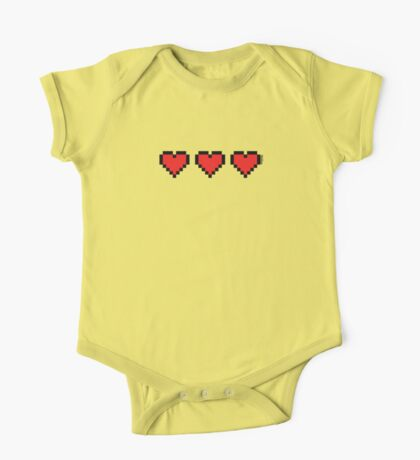 Heart Containers One Piece - Short Sleeve