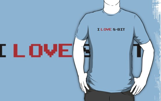 I Love 8-Bit by GeekGamer