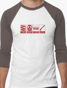 In Case Of Zombie Apocolypse Men's Baseball ¾ T-Shirt