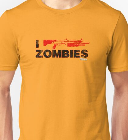 I Shotgun Zombies Unisex T-Shirt