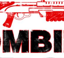 I Shotgun Zombies Sticker