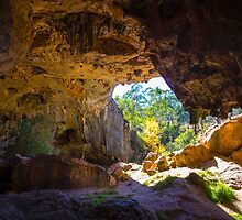 Borenore Caves Orange by Doug Cliff