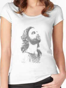 Jim Morrison Women's Fitted Scoop T-Shirt