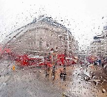 Rainy London. by Kathy Behrendt