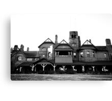 Old House on the Hill Canvas Print