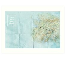 Looking For Alaska/ The Great Perhaps Art Print