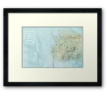 Looking For Alaska/ The Great Perhaps Framed Print