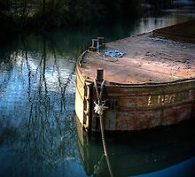 Rusty Barge by mlphoto