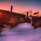 Tractor Sunrise 3031_2013 by Ian McGregor
