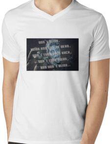 Don't Blink - Doctor Who Mens V-Neck T-Shirt