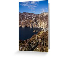 Slieve League, Co. Donegal Greeting Card