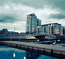 Grand Canal Dock, Dublin, Ireland by Alessio Michelini