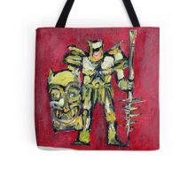 WARRIOR with SHIELD and SPEAR Tote Bag